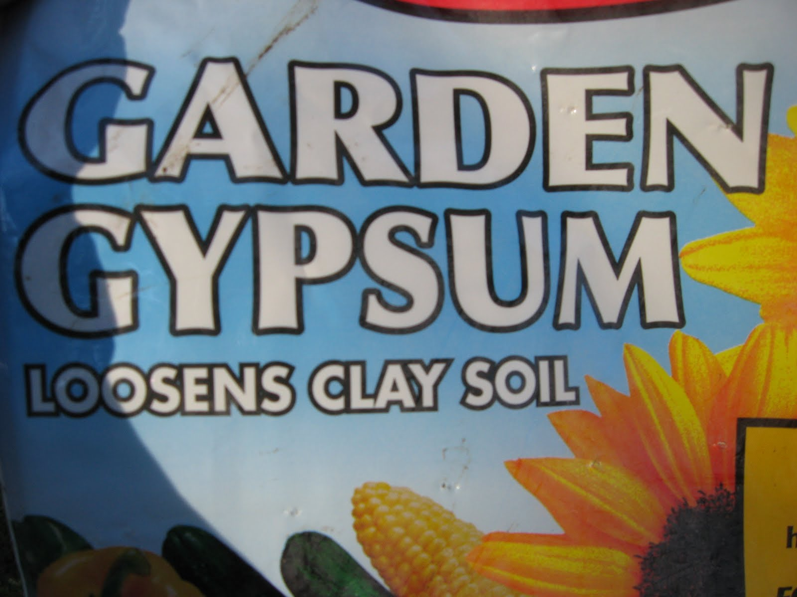 you can never go wrong with gypsum - Garden Gypsum